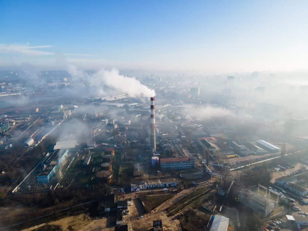 Toplana i zagađen vazduh u gradu